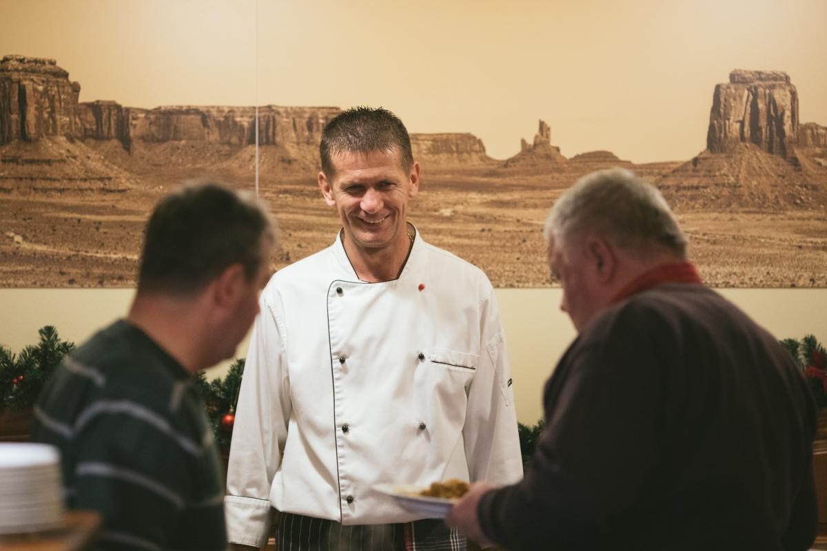 Szép Tibor chef - Öreg Sam Étterem