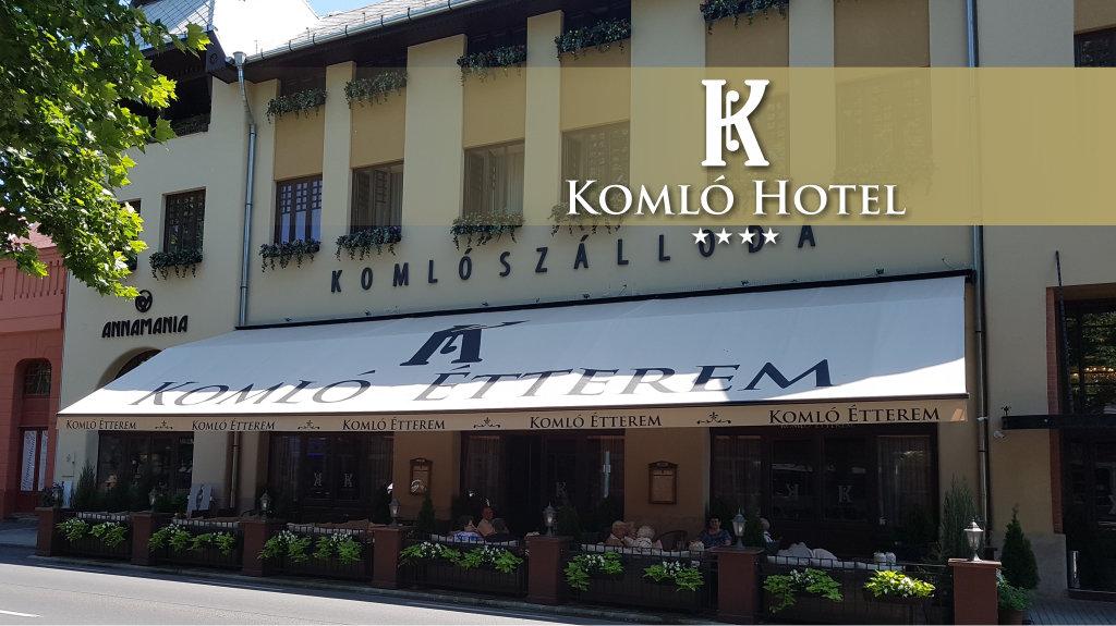 Komló Hotel*** – Gyula